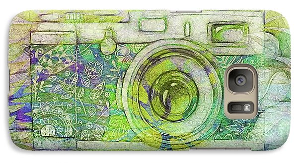Galaxy Case featuring the digital art The Camera - 02c5bt by Variance Collections