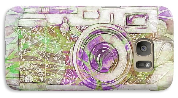 Galaxy Case featuring the digital art The Camera - 02c6 by Variance Collections