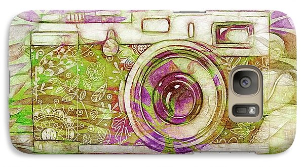 Galaxy Case featuring the digital art The Camera - 02c6t by Variance Collections