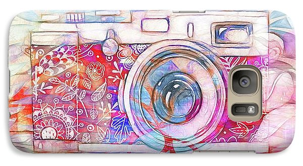 Galaxy Case featuring the digital art The Camera - 02c8v2 by Variance Collections
