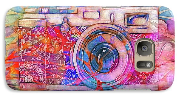 Galaxy Case featuring the digital art The Camera - 02v2 by Variance Collections