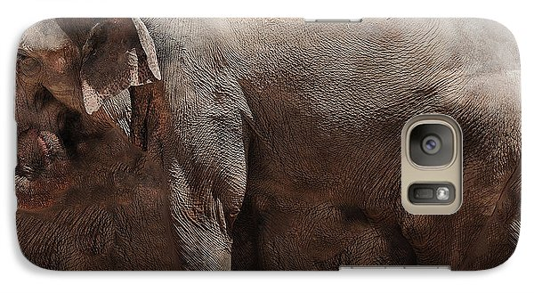 Galaxy Case featuring the digital art The Cave by Robert Orinski