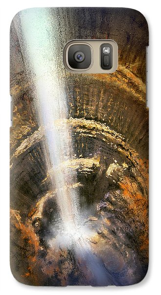 Galaxy Case featuring the painting The Cavern by Andrew King
