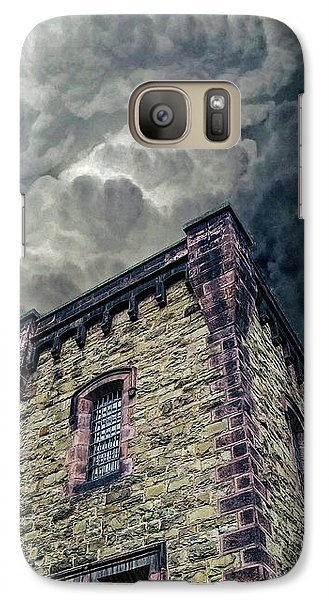 Galaxy Case featuring the photograph The Cell Block Restaurant by Greg Reed