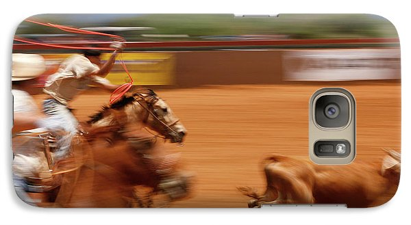 Galaxy Case featuring the photograph The Chase by Roger Mullenhour