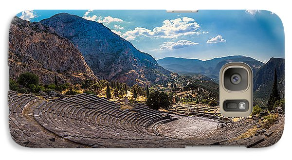 Galaxy Case featuring the photograph The Cheap Seats At Delphi by Micah Goff