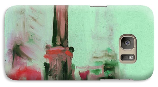 The Chicago Water Tower 535 4 Galaxy S7 Case by Mawra Tahreem
