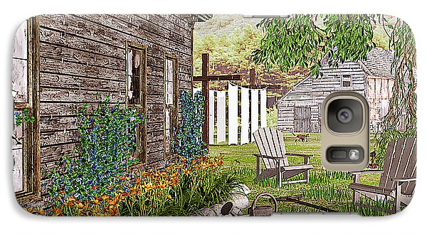Galaxy Case featuring the photograph The Chicken Coop by Peter J Sucy