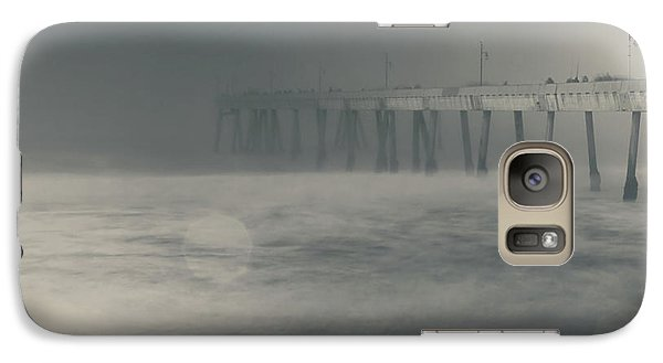 Galaxy Case featuring the photograph The Chill In My Bones by Laurie Search