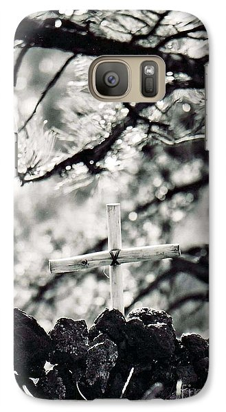 Galaxy Case featuring the photograph The Church by Juls Adams