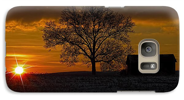 Galaxy Case featuring the photograph The Circle Of Life by Skip Tribby