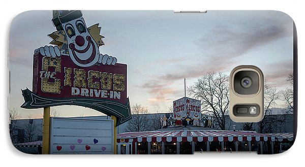 Galaxy Case featuring the photograph The Circus Drive In Wall Township Nj by Terry DeLuco