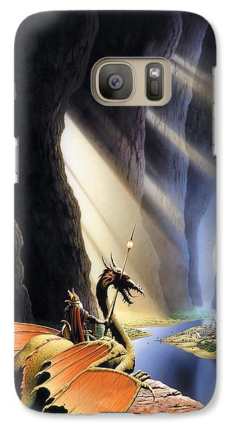 The Citadel Galaxy S7 Case by The Dragon Chronicles - Steve Re