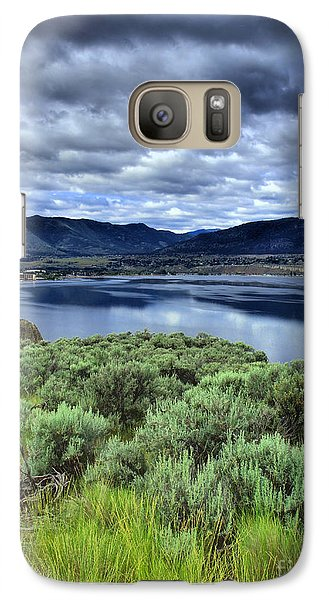Galaxy Case featuring the photograph The City And The Clouds by Tara Turner