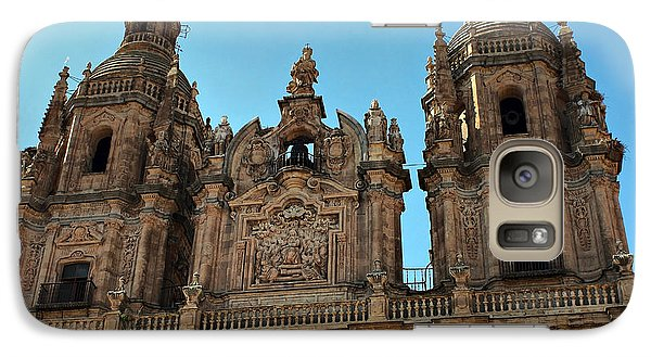 Galaxy Case featuring the photograph The Clerecia Church In Salamanca by Farol Tomson