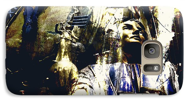 Galaxy Case featuring the photograph The Clock Struck One by LemonArt Photography