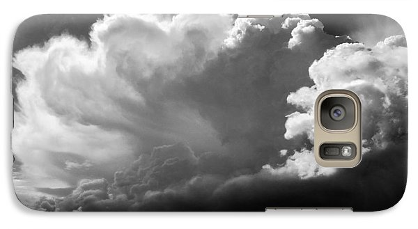Galaxy Case featuring the photograph The Cloud Gatherer by John Bartosik