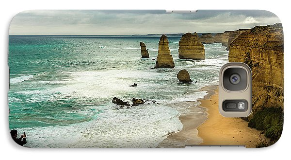 Galaxy Case featuring the photograph The Coast by Perry Webster