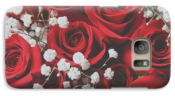 Galaxy Case featuring the photograph The Color Of Love by Laurie Search