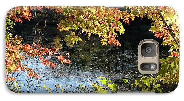 Galaxy Case featuring the photograph The Colors Of Fall by Tara Lynn