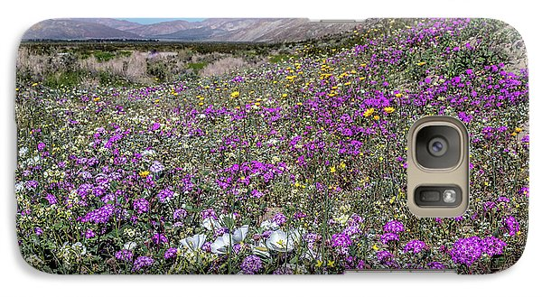 Galaxy Case featuring the photograph The Colors Of Spring Super Bloom 2017 by Peter Tellone