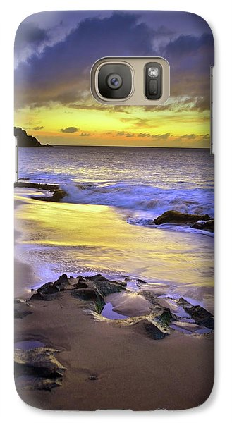 Galaxy Case featuring the photograph The Colour Of Molokai Nights by Tara Turner