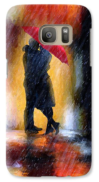 Galaxy Case featuring the painting The Colours Of Love by James Shepherd