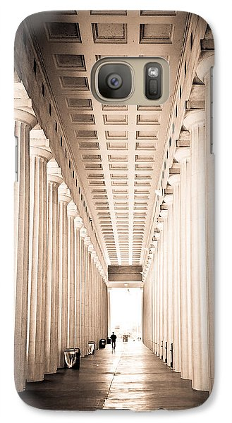 Soldier Field Galaxy S7 Case - The Columns At Soldier Field by Anthony Doudt