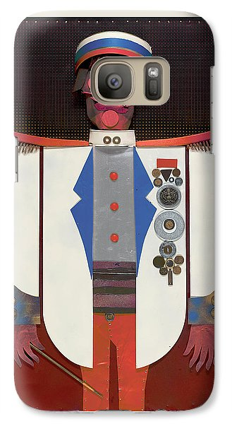 Galaxy Case featuring the painting The Commander by Bob Coonts