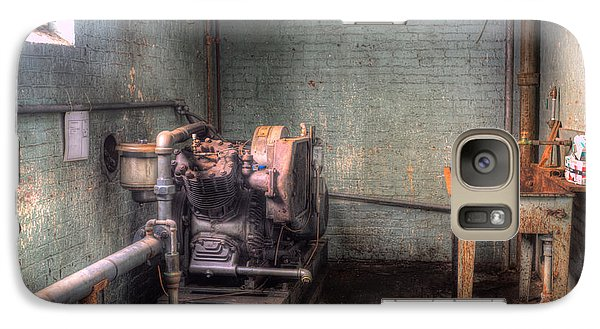 Galaxy Case featuring the photograph The Compressor by David Bishop