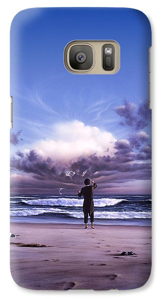 Seagull Galaxy S7 Case - The Conductor by Jerry LoFaro