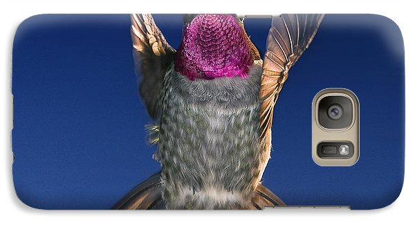 Galaxy Case featuring the photograph The Conductor Of Hummer Air Orchestra by William Lee