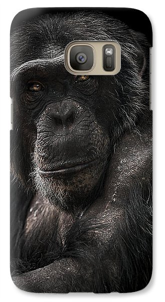 Ape Galaxy S7 Case - The Contender by Paul Neville