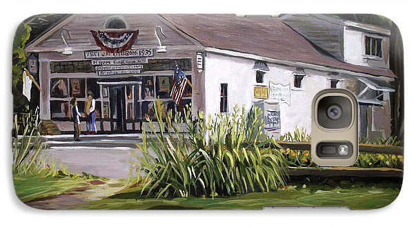 Galaxy Case featuring the painting The Country Store by Nancy Griswold