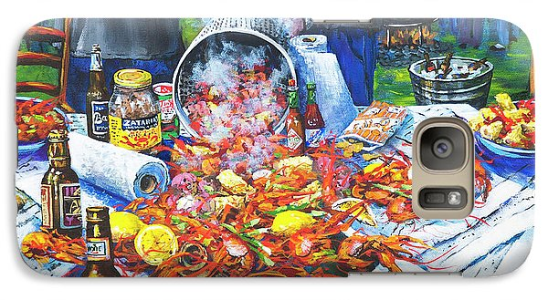 Food And Beverage Galaxy S7 Case - The Crawfish Boil by Dianne Parks