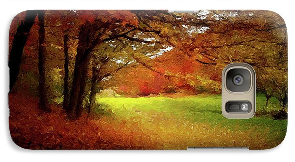 Galaxy Case featuring the painting The Crimson Season P D P by David Dehner