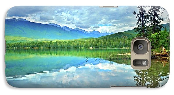 Galaxy Case featuring the photograph The Crystal Waters Of Lake Annette by Tara Turner