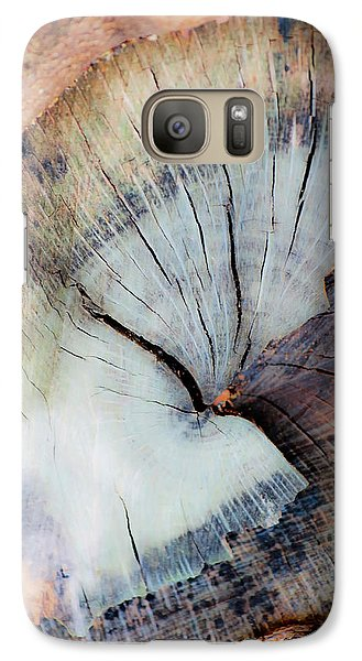 Galaxy Case featuring the photograph The Cut by Stephen Anderson
