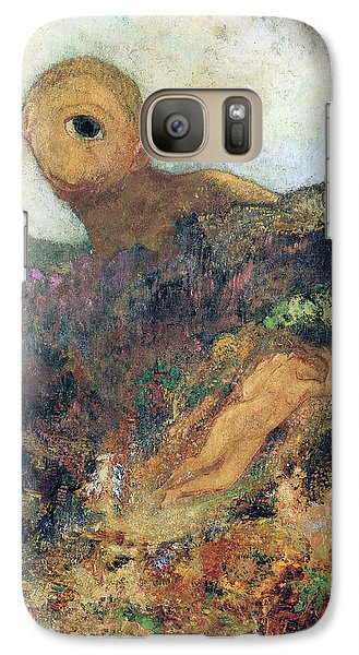 The Cyclops Galaxy S7 Case by Odilon Redon