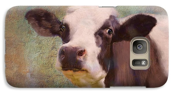 Galaxy Case featuring the mixed media The Dairy Queen by Colleen Taylor