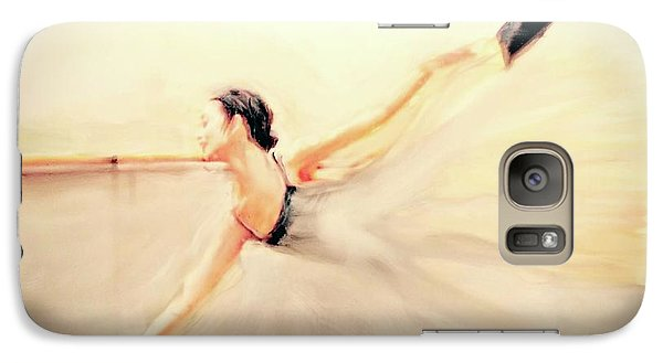 Galaxy Case featuring the painting The Dance Of Life by FeatherStone Studio Julie A Miller