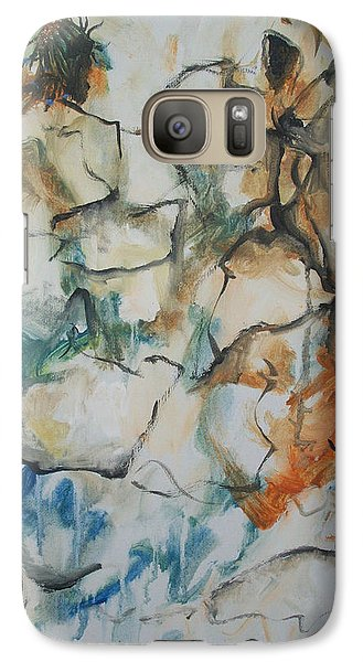 Galaxy Case featuring the painting The Dance by Raymond Doward