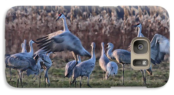 Galaxy Case featuring the photograph The Dance by Shari Jardina