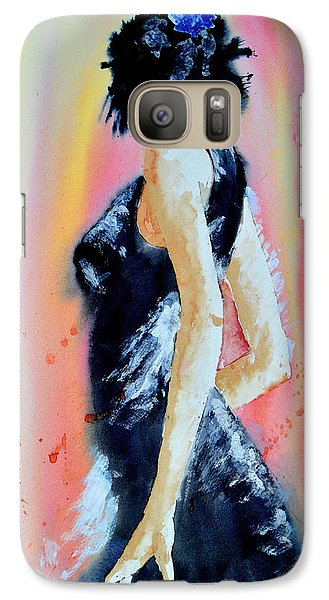 Galaxy Case featuring the painting The Dance by Steven Ponsford