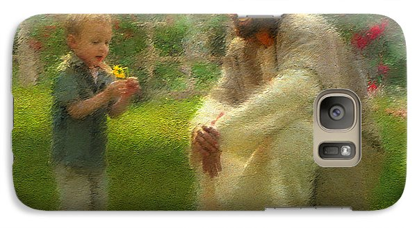 Galaxy Case featuring the painting The Dandelion by Greg Olsen