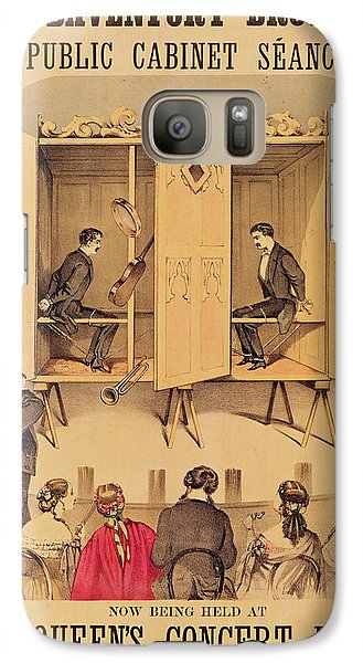 The Davenport Brothers Galaxy S7 Case by English School