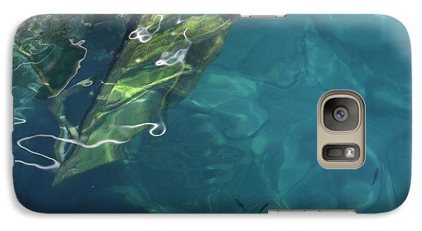 Galaxy Case featuring the photograph The Deep by Pat Purdy