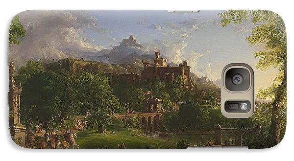 The Departure Galaxy S7 Case by Thomas Cole