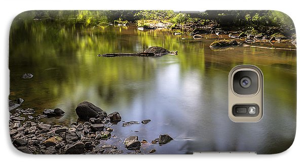 Galaxy Case featuring the photograph The Devon River by Jeremy Lavender Photography