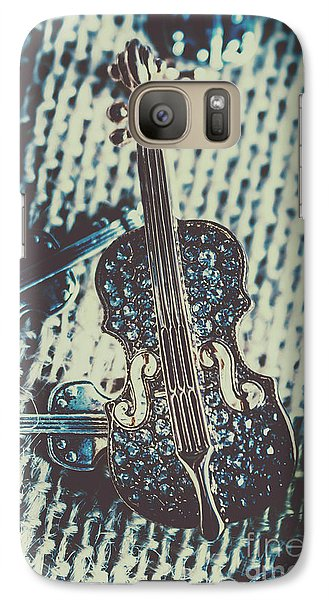 Violin Galaxy S7 Case - The Diamond Symphony by Jorgo Photography - Wall Art Gallery